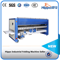 Hippo high quelity clothes folding machine for laundry shop