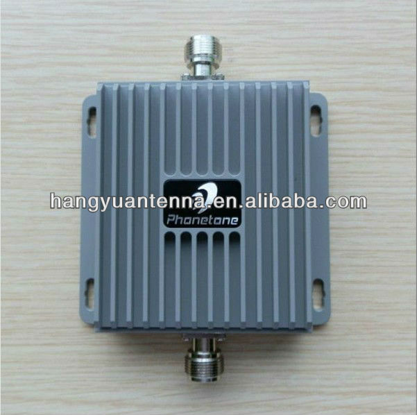 mobile phone signal booster within indoor and outdoor antenna