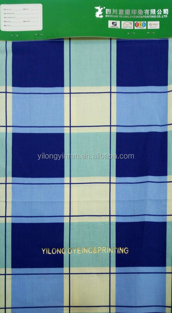 100% Cotton printed poplin fabric resistant to chlorine bleach