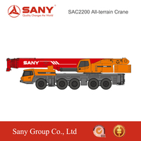 SANY SAC2200 220 Ton Heavy All Terrain Truck Mounted Crane for Sale in Malaysia