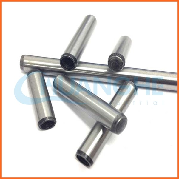 China supplier black luster finish alloy steel standard dowel pin