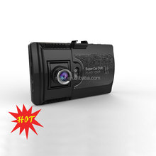 Dual car vehicle DVR with GPS navigation rear view advanced car black box support Android 4.0.4