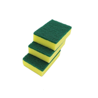 Different packing scouring pad and cleaning sponge for kitchen dish washing dish sponge