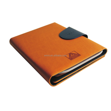 Zippered PU Leather Portfolio with tablet universal protective case