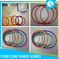 Various cheap colorful FDA grade silicone food container gasket