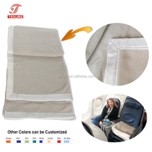 Higher Quality Business Class Airline Thermal Blanket Compliant with Flame Retardant FAR 25.853