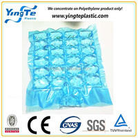 100% Virgin LDPE plastic disposable ice bags medical ice cube bag