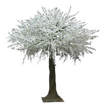 2016 Manufacturer lifelike artificial flowering tree artificial pear trees