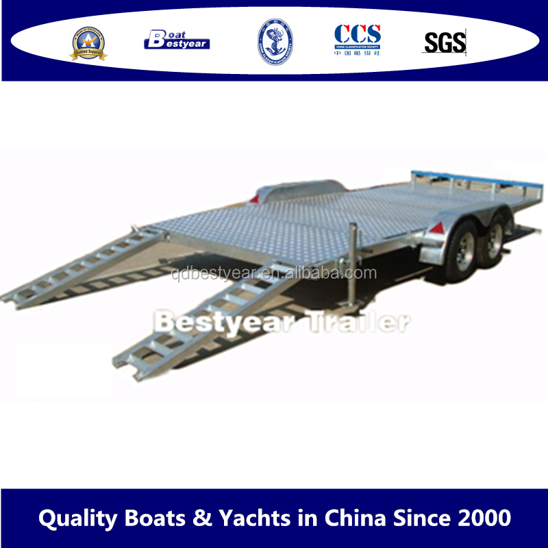 Car Trailer and Excavator Trailer