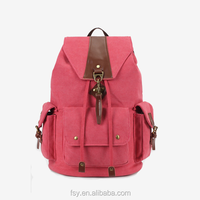 Hot style new design canvas backpack rucksack