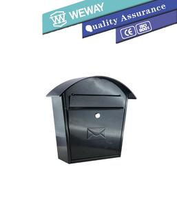 hot selling morden stainless steel mental mialbox garden mailbox