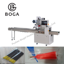 Automatic film bag wrapping agarbatti candle packing machine BG-250