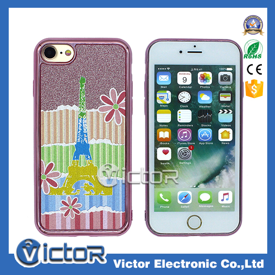 For iPhone 7 bling phone case with wholesale price printing tpu case