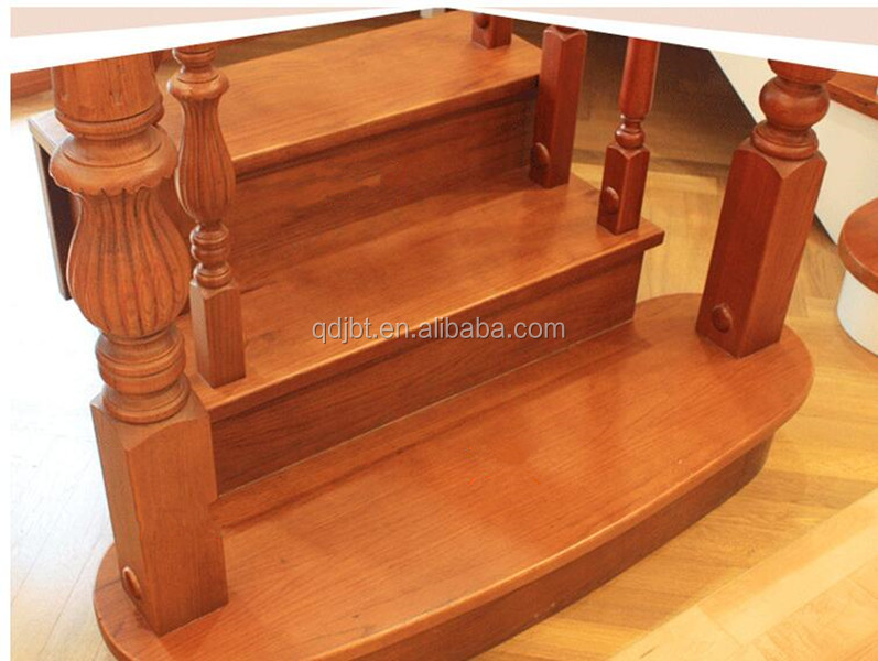 Curved nosing decorative MDF laminate stair treads