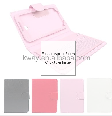 "Wireless Bluetooth Keyboard Case for Samsung Galaxy Tab 3 7"" P3200 Tab 3 10.1"" P5200"