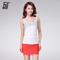 Fashion lady lace camisole women tank top sexy net cloth camisole women summer camisole DB-49