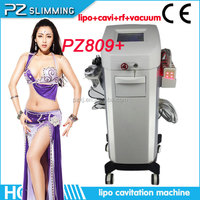 world best selling products 2013 beauty professional laser fat loss salon machine with cavi rf treatment (PZ809+/CE)