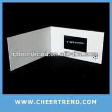 "2013 Hottest 2.4""/2.8""/3.5""/4.3""/7"" video brochure promotional items china"
