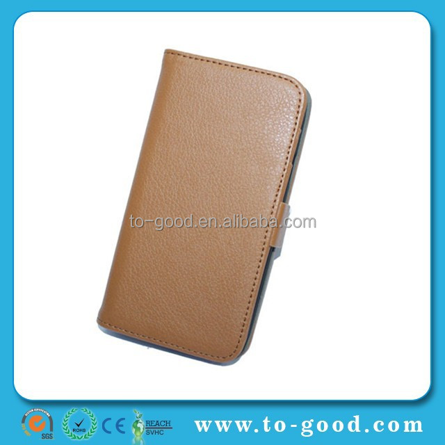 Stand Wallet Luxury Leather case cover For Samsung Galaxy S3 factory price Mix color