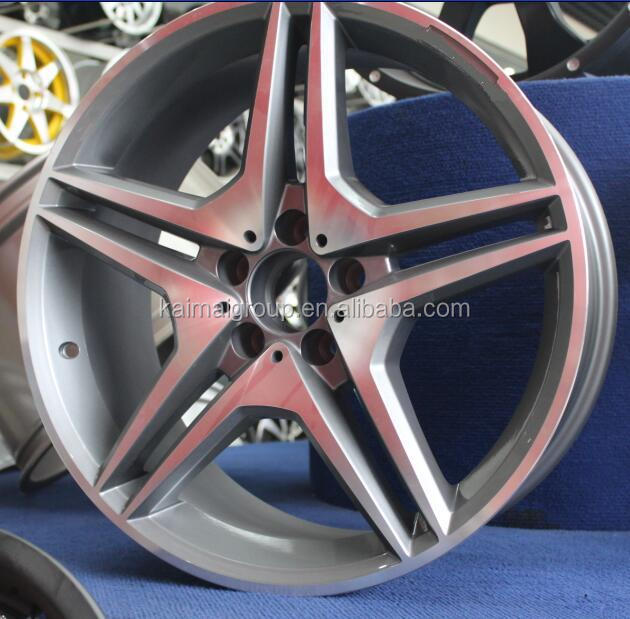 top grade 5x112 car aluminum wheels rim19 inch