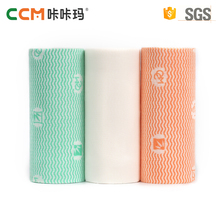 China supplier best quality spunlace nonwoven fabric roll multi-purpose cleaning wipes