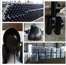 suppling carbon steel butt welding pipe fittings ASTM A234 WPB ANSI B16.9