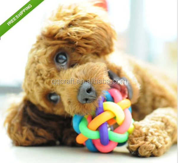 Pet Dog Toys Leakage Food Ball Natural Rubber Tasty Safety Large Medium Puppy toys for dog