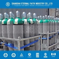 empty gas cylinder Argon/Hydrogen/Co2 steel compressed