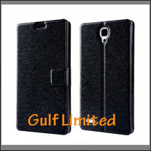 2014 hot selling crafts Stand Flip Leather Case For XiaoMi Redmi Note