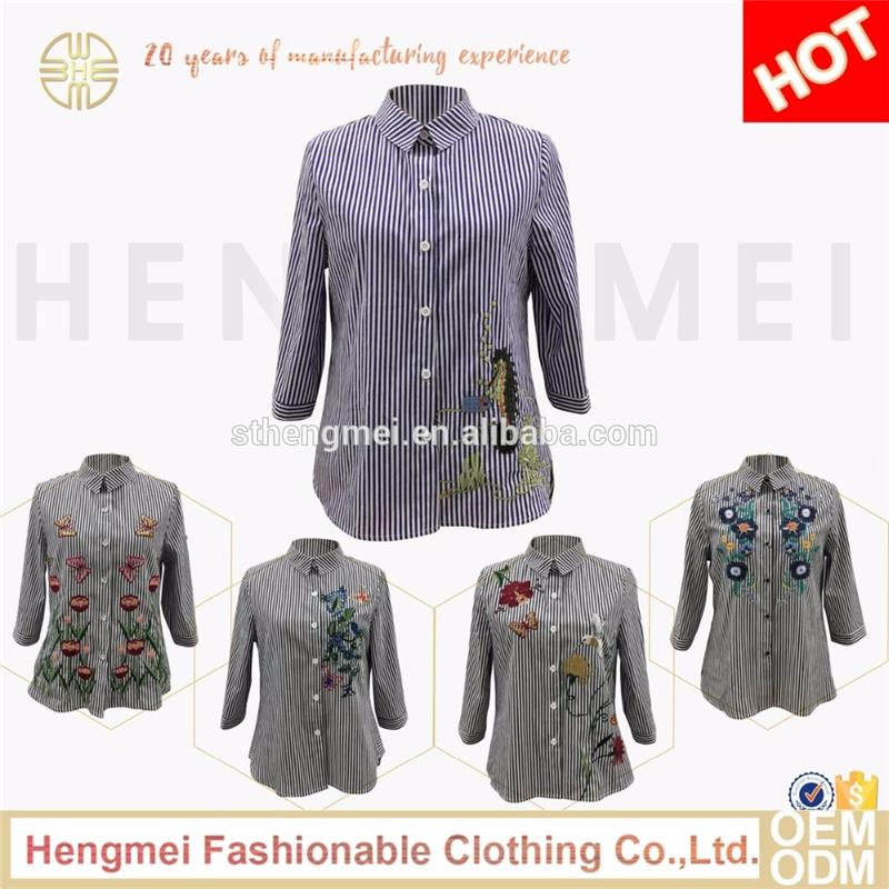 Simple design shirt fashion clothes new model blouse