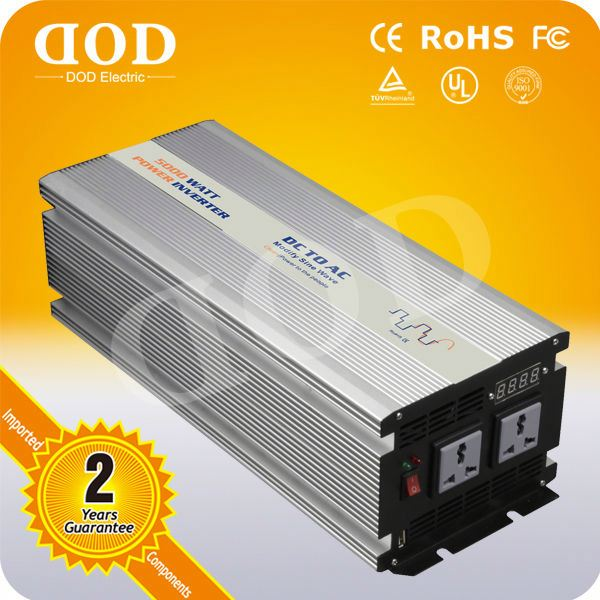 Pure sine wave dc to ac fashion inverter for electronic products power inverter inductive load