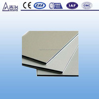 standard aluminum alloy material sizes aluminum composite panel/board/plate/sheet