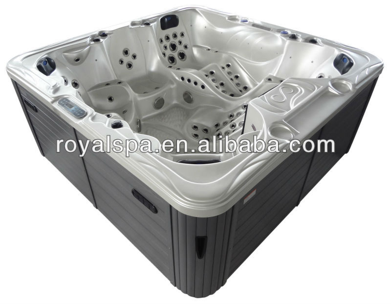 150 JETS best selling consumer products hot tub acrylic transparent bathtub jet whirlpool bathtub with tv
