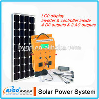 portable solar off grid power system 400W(BYGD-400Y)