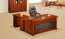 Antique wood executive office desk furniture(FOH-K1852)