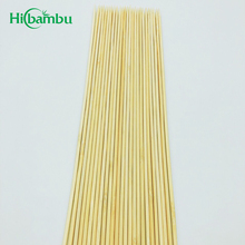 Custom bamboo eco-friendly bbq natural barbecue bamboo skewer