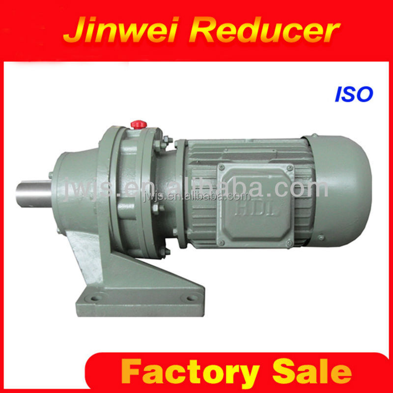 Tianjin factory price cycloidal planetary gearbox motor