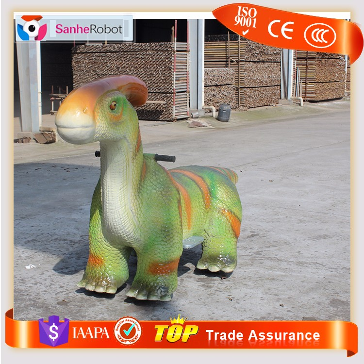 SH-S023 Kids Play Park Item Coin Operated Dinosaur Games for sale