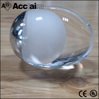 clear acrylic ball pendant lamp accessory modern oval acrylic chandelier