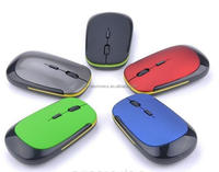 Slim 2.4GHz Wireless Optical Mouse Cordless Mice USB 2.0 Receiver mouse For Laptop PC