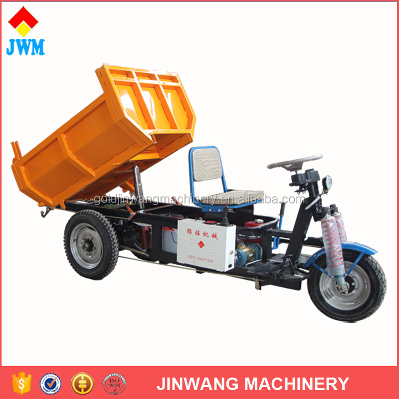 China popular underground mining Electric hydraulic tricycle