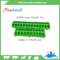 Equipments For Poultry Farms Plastic Long Pigeon Feeder Trough on sale