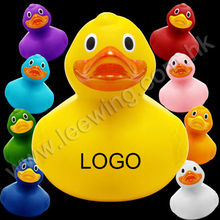 Hot Sale PVC Baby Weighted Floating Rubber Bath Duck