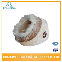 Pet accessories wholesale china Warm custom design luxury dog bed