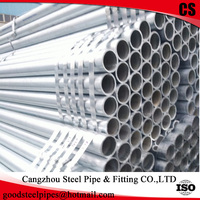 mild steel pipe with low galvanized iron pipe price