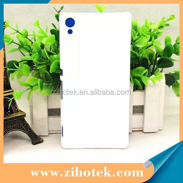 3D blank sublimaiton cases for Sony Z4, For Sony Z4 3d sublimation mobile cases, Z4 Sublimation printing case