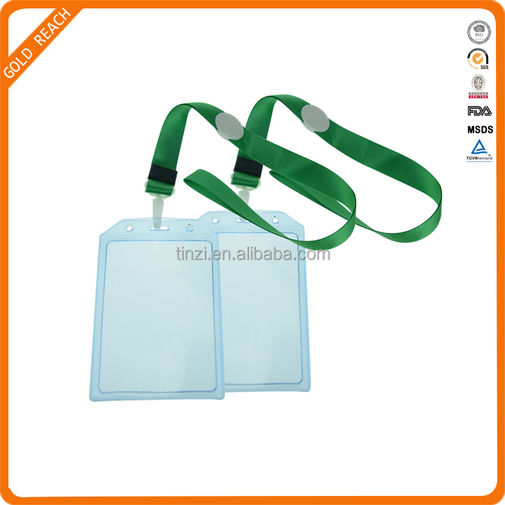 Cute Business Card Holder,Plastic ID Name Card Holder