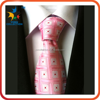color printed Fabric Polyester necktie