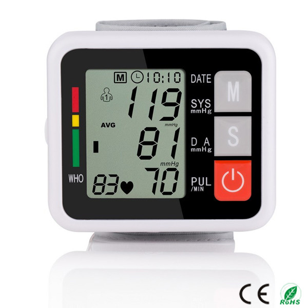 Wholesale LCD Digital Display Accurate ABS Cheap aaa batteries wrist watch blood pressure monitor