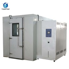 Walk in stability Climatic Temperature Instrument Customized environmental rooms for automotive testing